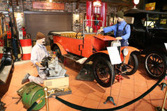 Fournier Type 1919 B 146 Cyclecar Royaltyfria Bilder
