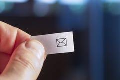Fournir un courrier Photographie stock libre de droits