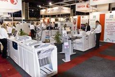 Fournisseur d'imprimante laser de couleur - signe Afrique 2010 Images stock