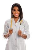 Fournisseur de soins de santé femelle images libres de droits