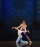"""Fournissez un  de Nights†de l'""""One mille et un de ballet de sirène Photographie stock"""
