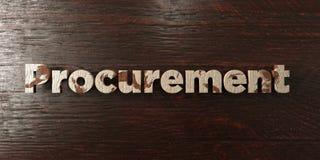 Fourniture - titre en bois sale sur l'érable - image courante gratuite de redevance rendue par 3D illustration stock