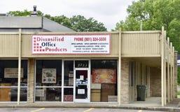 Fournitures de bureau diversifiées, Memphis, TN photo libre de droits