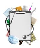 Fournitures médicales Photographie stock libre de droits