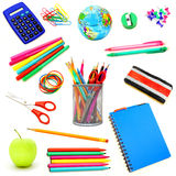 Fournitures scolaires Images stock