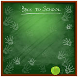 Fournitures scolaires background6 Image stock
