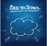 Fournitures scolaires background5 Image libre de droits