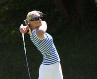 Fourqueux高尔夫球夫人的莉娜Elmaster打开 库存照片