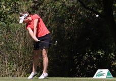 Fourqueux高尔夫球夫人的马里Ricordeau打开 库存图片