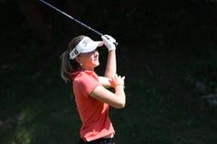 Fourqueux高尔夫球夫人的马里Ricordeau打开 库存照片