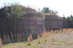 Fours à charbon de bois de brique Images libres de droits