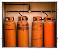 Fours gas container Stock Photos