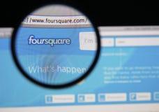 Foursquare stock foto's