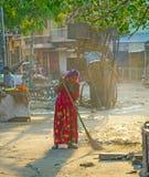 fourt类的印地安妇女 库存图片