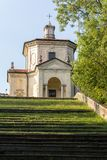 Fourteenth Chapel at Sacro Monte di Varese. Italy Royalty Free Stock Images