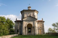 Fourteenth Chapel at Sacro Monte di Varese. Italy Stock Images