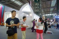 The fourteenth Chinese (Shenzhen) international brand clothing & Accessories Fair landscape Stock Photo