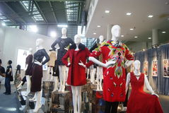 The fourteenth Chinese (Shenzhen) international brand clothing & Accessories Fair landscape Royalty Free Stock Photos