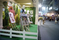 The fourteenth Chinese (Shenzhen) international brand clothing & Accessories Fair landscape Stock Photography