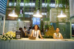 The fourteenth Chinese (Shenzhen) international brand clothing & Accessories Fair landscape Stock Image
