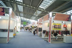The fourteenth Chinese (Shenzhen) international brand clothing & Accessories Fair landscape Royalty Free Stock Photo