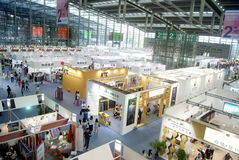 The fourteenth Chinese (Shenzhen) international brand clothing & Accessories Fair landscape Stock Images
