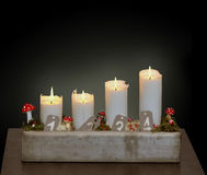 Fourth of Advent royalty free stock image