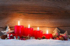 Fourth advent Stock Photography