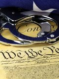 Fourth Amendment to the United States Constitution Stock Images