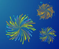 FOURTH OF JULY. 4 th of July images, fireworks, celebration Stock Photography