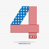 Fourth of july Stock Image
