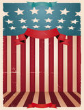 Fourth Of July - American background Stock Photos
