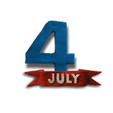 The fourth of July Royalty Free Stock Photography
