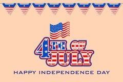 Fourth of July American Independence Day Stock Photography