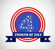 Fourth of july american independence Stock Photos