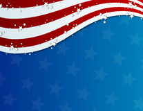 Fourth of july background. Patriotic fourth of july background, red, white and blue flag Royalty Free Stock Images