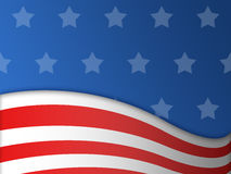 Fourth of July background. American flag and fourth of July background vector illustration