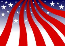 Fourth of July background Stock Image