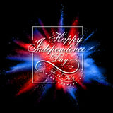 Fourth of July background for Happy Independence Day  America Royalty Free Stock Photo