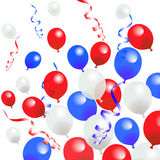 Fourth Of July Balloons Royalty Free Stock Images