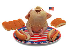 Fourth of July BBQ Royalty Free Stock Photography