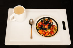 Fourth of July Breakfast Stock Images