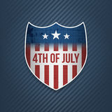 Fourth of July Celebration vector Banner Stock Photography