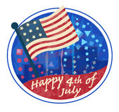 Fourth of July Clip art Stock Image