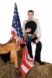 Fourth of july, cowboy Stock Photos