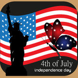 Fourth of July design Royalty Free Stock Images