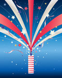 Fourth of july firework Royalty Free Stock Photos