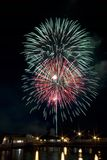 Fourth of July Fireworks Royalty Free Stock Photography