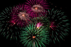 Fourth Of July Fireworks Celebration Royalty Free Stock Photography