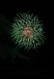 Fourth of July Fireworks Celebration Royalty Free Stock Images